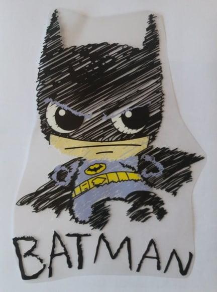 batman silityskuvio