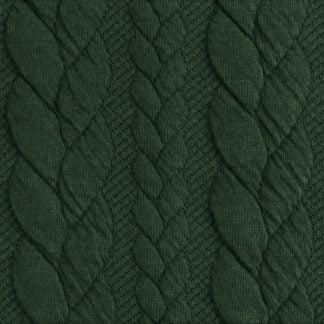 palmikkoneulos, vihreä